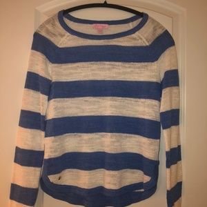 Lilly Pulitzer Hollin Striped Sweater Size Small